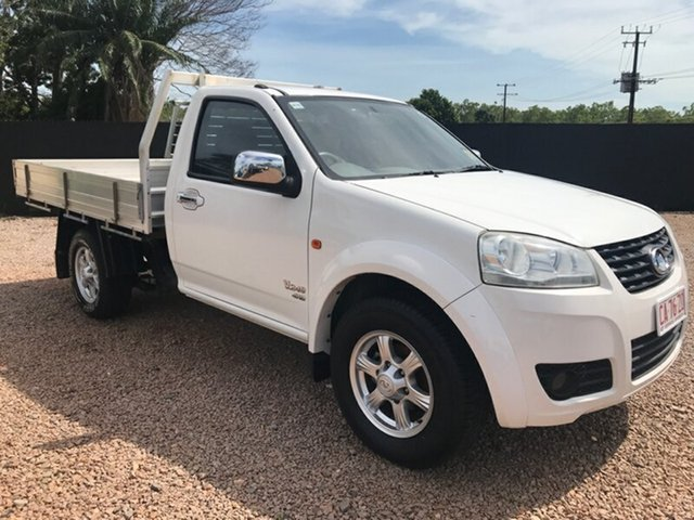 Used Great Wall V240 K2 MY12 , 2012 Great Wall V240 K2 MY12 White 5 Speed Manual Cab Chassis