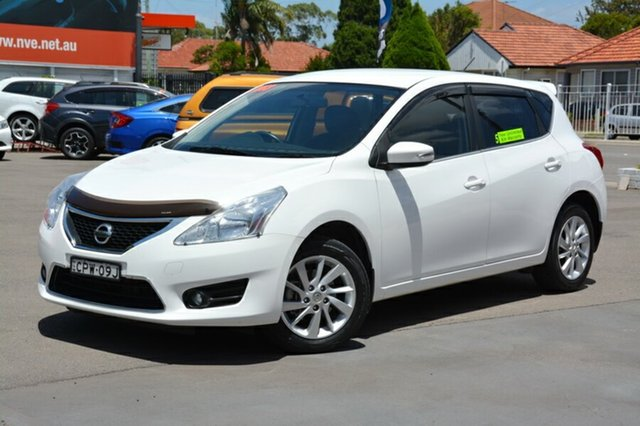 Used Nissan Pulsar C12 ST-L, 2013 Nissan Pulsar C12 ST-L White 1 Speed Constant Variable Hatchback