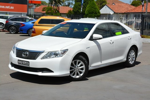 Used Toyota Aurion GSV50R AT-X, 2013 Toyota Aurion GSV50R AT-X White 6 Speed Sports Automatic Sedan