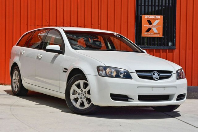 Used Holden Commodore VE MY09 Omega Sportwagon, 2008 Holden Commodore VE MY09 Omega Sportwagon White 4 Speed Automatic Wagon