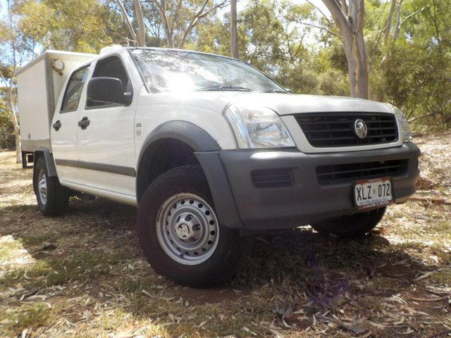 Used Holden Rodeo RA MY06 LX Crew Cab, 2006 Holden Rodeo RA MY06 LX Crew Cab White 4 Speed Automatic Utility