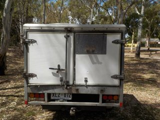 2006 Holden Rodeo RA MY06 LX Crew Cab White 4 Speed Automatic Utility