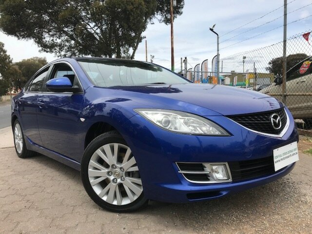 Used Mazda 6 GG1032 Classic, 2007 Mazda 6 GG1032 Classic Blue 5 Speed Sports Automatic Sedan