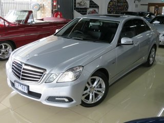 2009 Mercedes-Benz E220 212 CDI Avantgarde Sterling Silver 5 Speed Automatic Sedan