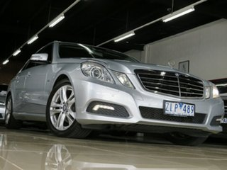 2009 Mercedes-Benz E220 212 CDI Avantgarde Sterling Silver 5 Speed Automatic Sedan.