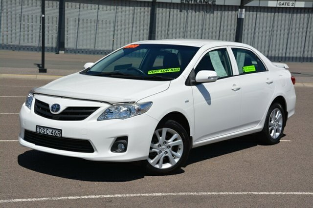 Used Toyota Corolla ZRE152R Ascent Sport, 2013 Toyota Corolla ZRE152R Ascent Sport White 4 Speed Automatic Sedan