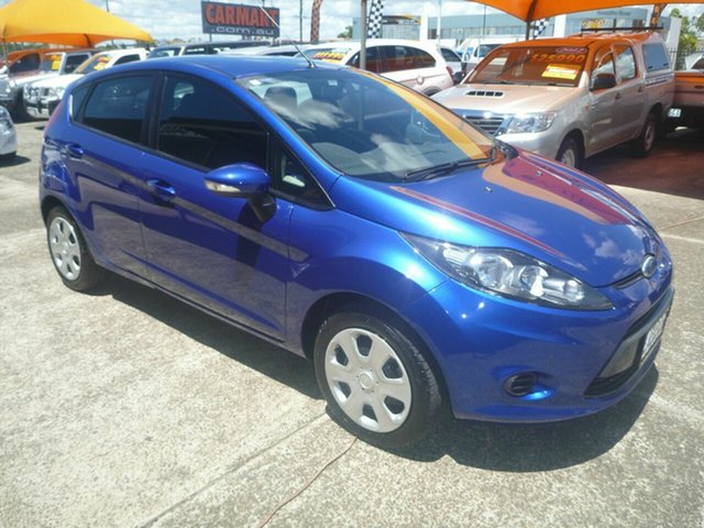 Used Ford Fiesta WT CL PwrShift, 2012 Ford Fiesta WT CL PwrShift Blue 6 Speed Sports Automatic Dual Clutch Hatchback