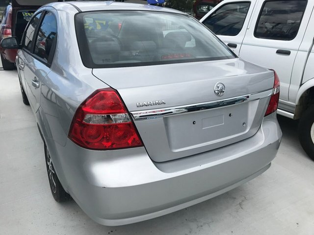Used Holden Barina TK MY07 , 2006 Holden Barina TK MY07 Silver 5 Speed Manual Sedan