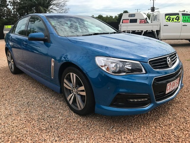 Used Holden Commodore VF MY15 SV6, 2015 Holden Commodore VF MY15 SV6 Blue 6 Speed Sports Automatic Sedan