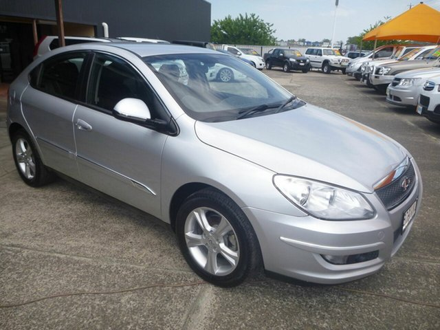 Used Chery J3 M1X , 2013 Chery J3 M1X Silver 7 Speed CVT Auto Sequential Hatchback
