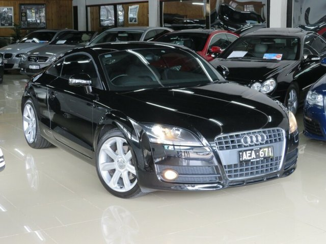 Used Audi TT 8J 1.8 TFSI, 2009 Audi TT 8J 1.8 TFSI Black Devil 6 Speed Manual Coupe
