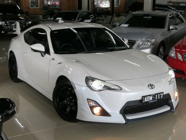 Used Toyota 86 ZN6 GTS, 2013 Toyota 86 ZN6 GTS Pearl White 6 Speed Manual Coupe
