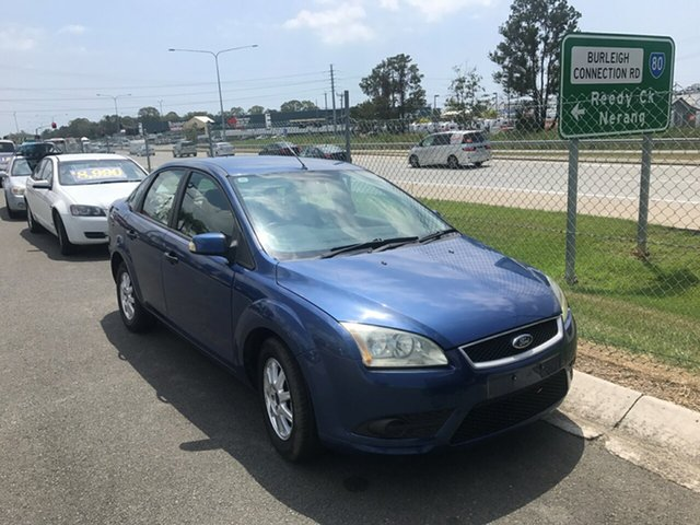 Used Ford Focus LT LX, 2008 Ford Focus LT LX Blue 5 Speed Manual Sedan