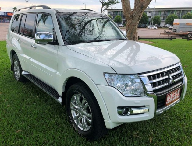 Used Mitsubishi Pajero NX MY15 GLX, 2015 Mitsubishi Pajero NX MY15 GLX White 5 Speed Sports Automatic Wagon
