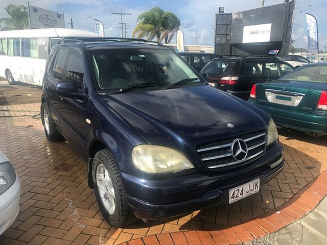 Used Mercedes-Benz ML320 W163 MY2000 Luxury, 2000 Mercedes-Benz ML320 W163 MY2000 Luxury Blue 5 Speed Sports Automatic Wagon