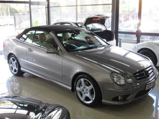 2008 Mercedes-Benz CLK280 C209 07 Upgrade Avantgarde Silver Slate 7 Speed Automatic G-Tronic Coupe