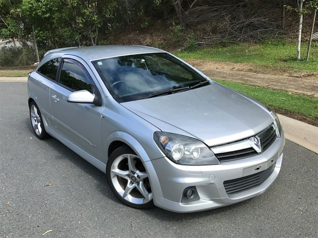 Used Holden Astra AH MY07 SRI Turbo, 2006 Holden Astra AH MY07 SRI Turbo Silver 6 Speed Manual Coupe