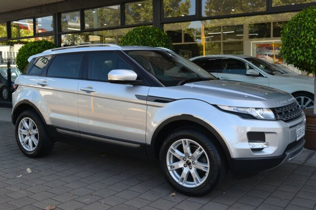 Used Land Rover Range Rover Evoque L538 MY12 SD4 CommandShift Pure, 2012 Land Rover Range Rover Evoque L538 MY12 SD4 CommandShift Pure Silver Metallic 6 Speed