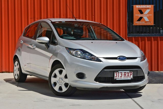 Used Ford Fiesta WT CL, 2012 Ford Fiesta WT CL Silver 5 Speed Manual Hatchback