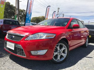 2007 Ford Mondeo MA Zetec Red 6 Speed Sports Automatic Sedan.