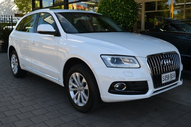 Used Audi Q5 8R MY13 TFSI Tiptronic Quattro, 2012 Audi Q5 8R MY13 TFSI Tiptronic Quattro White 8 Speed Sports Automatic Wagon