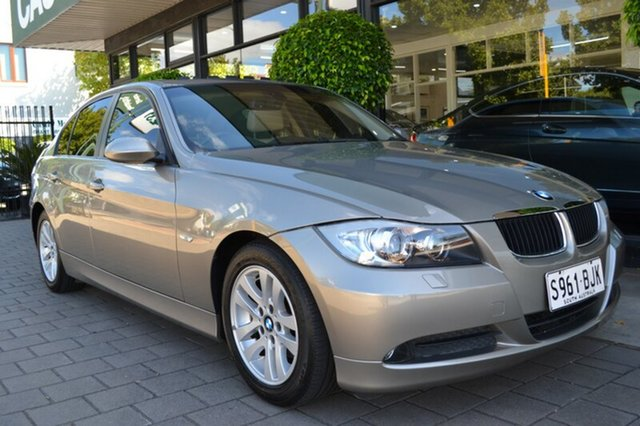 Used BMW 320i E90 MY09 Executive Steptronic, 2008 BMW 320i E90 MY09 Executive Steptronic Beige Metallic 6 Speed Sports Automatic Sedan