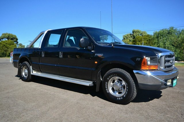 Used Ford F250 RM XLT, 2002 Ford F250 RM XLT Black 4 Speed Automatic Dual Cab
