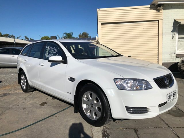 Used Holden Commodore VE II MY12 Omega Sportwagon, 2012 Holden Commodore VE II MY12 Omega Sportwagon Heron White 6 Speed Sports Automatic Wagon