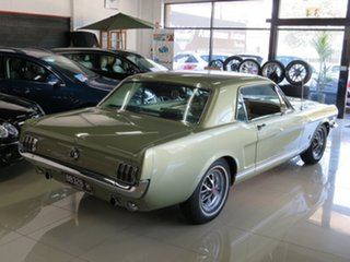 1965 Ford Mustang Olive Gold 3 Speed Automatic Hardtop.