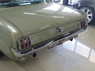 1965 Ford Mustang Olive Gold 3 Speed Automatic Hardtop