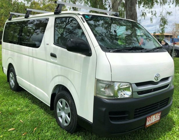 Used Toyota Hiace KDH201R MY08 LWB, 2008 Toyota Hiace KDH201R MY08 LWB White 5 Speed Manual Van