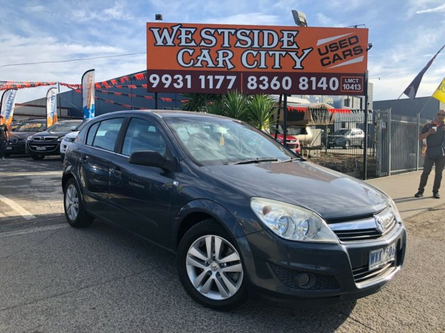 Used Holden Astra AH MY09 CDTi Hoppers Crossing, 2008 Holden Astra AH MY09 CDTi Blue 6 Speed Automatic Hatchback