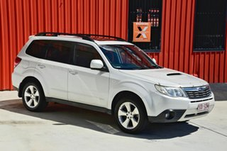 2008 Subaru Forester S3 MY09 XT AWD Premium White 4 Speed Sports Automatic Wagon