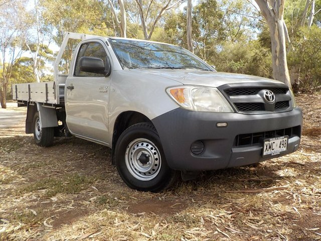 Used Toyota Hilux TGN16R MY05 Workmate, 2006 Toyota Hilux TGN16R MY05 Workmate 5 Speed Manual Cab Chassis