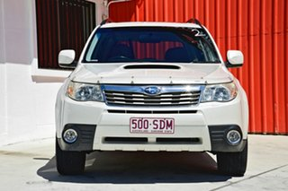 2008 Subaru Forester S3 MY09 XT AWD Premium White 4 Speed Sports Automatic Wagon.