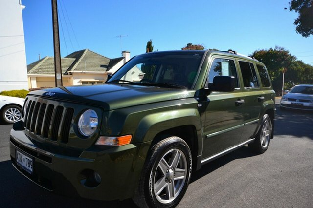 Used Jeep Patriot MK Limited, 2007 Jeep Patriot MK Limited Green 6 Speed Constant Variable Wagon