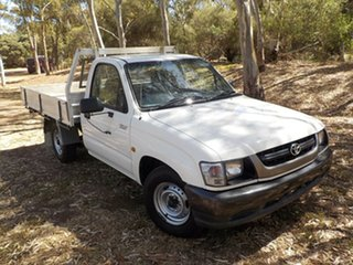 2004 Toyota Hilux RZN149R MY04 5 Speed Manual Cab Chassis.