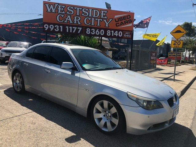 Used BMW 530i E60 , 2004 BMW 530i E60 Silver 6 Speed Auto Steptronic Sedan