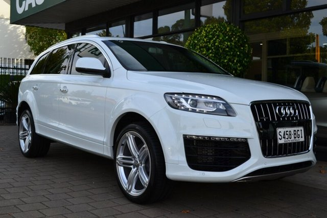Used Audi Q7 4L MY15 TDI Tiptronic quattro Sport, 2015 Audi Q7 4L MY15 TDI Tiptronic quattro Sport 8 Speed Sports Automatic Wagon
