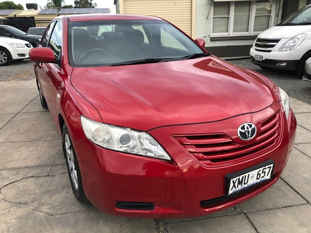 Used Toyota Camry ACV40R Altise, 2007 Toyota Camry ACV40R Altise Burgundy 5 Speed Automatic Sedan