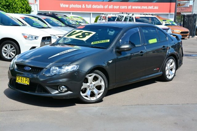Used Ford Falcon FG XR8, 2010 Ford Falcon FG XR8 Grey 6 Speed Manual Sedan