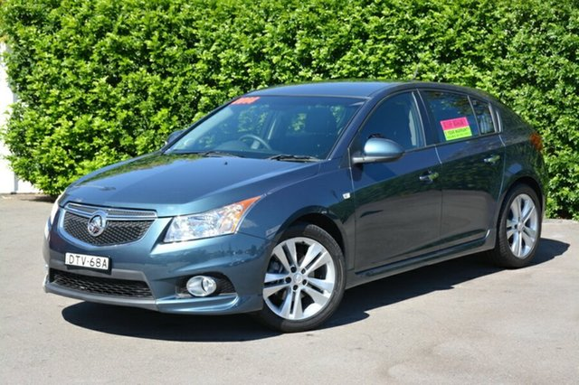 Used Holden Cruze JH Series II MY14 SRi-V, 2014 Holden Cruze JH Series II MY14 SRi-V Blue 6 Speed Sports Automatic Hatchback