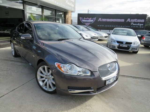 Used Jaguar XF  2.7D Luxury, 2008 Jaguar XF 2.7D Luxury Grey Titanium 6 Speed Automatic Sedan