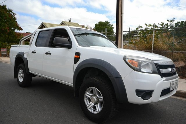 Used Ford Ranger PK XL, 2009 Ford Ranger PK XL White 5 Speed Automatic Dual Cab