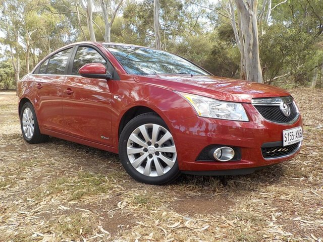 Used Holden Cruze JH Series II MY11 CDX, 2011 Holden Cruze JH Series II MY11 CDX Burgundy 6 Speed Sports Automatic Sedan