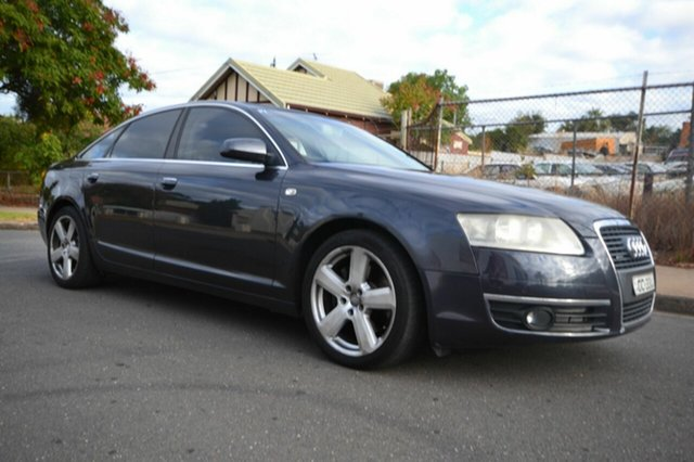 Used Audi A6 4F 3.0 TDI Quattro, 2006 Audi A6 4F 3.0 TDI Quattro Black 6 Speed Tiptronic Sedan