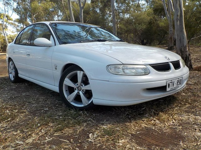 Used Holden Commodore VT Acclaim, 1998 Holden Commodore VT Acclaim White 4 Speed Automatic Sedan