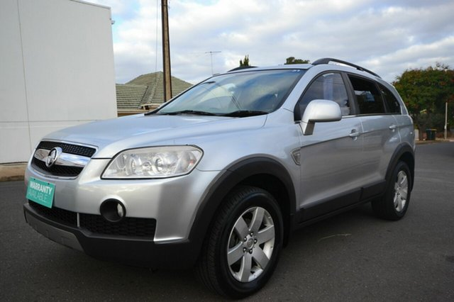 Used Holden Captiva CG CX, 2008 Holden Captiva CG CX Silver 5 Speed Sports Automatic Wagon