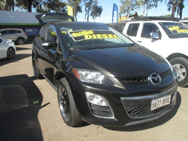 Used Mazda CX-7 Salisbury, 2011 Mazda CX-7 LUXURY SPORTS Black Wagon