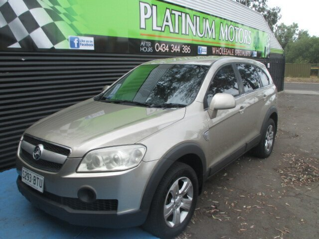 Used Holden Captiva SX Salisbury, 2006 Holden Captiva SX Gold Wagon